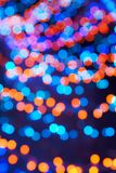 Blurred background bokeh. Soft lights background with lens flare vector illustration