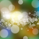 Blurred background with bokeh Royalty Free Stock Photo