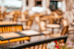 Blurred background of cafe stock photos