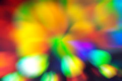 Blurred background. Colored blurred background, rainbow bokeh lights Royalty Free Stock Image