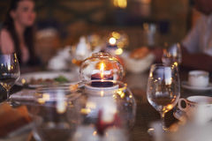 Blurred Background : Customer At Restaurant Blur Background With Stock Image