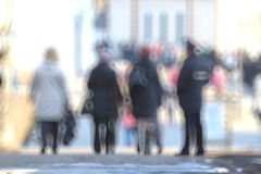 Blurred background defocusing city Royalty Free Stock Image