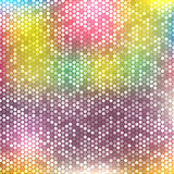 Blurred background with dots Stock Photography
