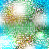Blurred background with dots Royalty Free Stock Photography