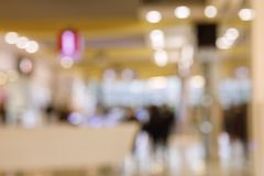 A blurred background of hotel reception hall. stock photos