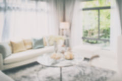 Blurred background interior living room. Blurred of interior living room for background Stock Image