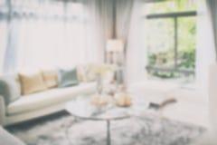 Blurred background interior living room. Blurred of interior living room for background stock image