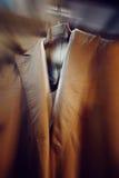 Blurred background of luxury man coat Stock Photography