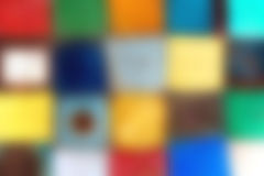 Blurred Background Painted Metal Squares Royalty Free Stock Photo