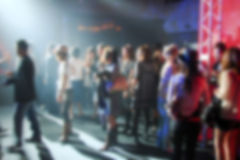 Blurred background of people Royalty Free Stock Image