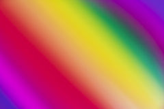 Blurred background of rainbow coloured gradient Stock Images