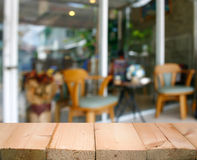 Blurred background : restaurant blur background Stock Images