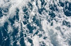 Blurred background, sea wave splash Stock Images