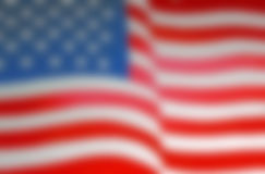 Blurred Background of the United States Flag Stock Photography