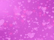 Blurred background of Valentine`s day concept Royalty Free Stock Photos