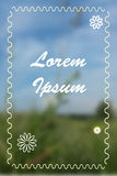 blurred background Stock Image