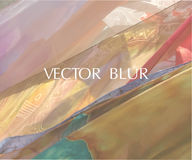 Blurred background. Vector illustration - Vector picture Stock Image
