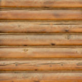 Blurred background wall from logs. Stock Photo