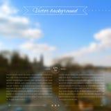 Blurred background. Web template. Beautiful illustration. Blurred background. Landscape background. Web design Stock Image
