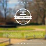 Blurred background. Web template. Blurred image. Landscape background. Hipster design Stock Photo