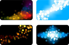 Blurred backgrounds. Stock Images