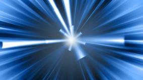 Blurred beams movie stock video footage