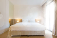 Blurred bedroom Royalty Free Stock Image