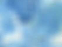 Blurred blue Royalty Free Stock Photo