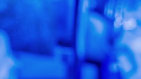Blurred blue backgrounds, abstract motion concepts. Blue defocused abstract motion background, shot in RAW stock video