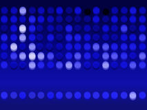 Blurred Blue Circles Royalty Free Stock Images