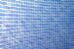 Blurred blue mosaic tile wall Royalty Free Stock Photo