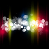 Blurred bokeh abstract background Royalty Free Stock Photo