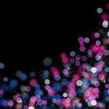 Blurred bokeh abstract background Royalty Free Stock Images