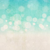 Blurred bokeh abstract nature background. vintage effect Stock Photography