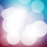 Blurred bokeh background Royalty Free Stock Photos