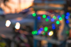 Blurred Bokeh background at the beach Royalty Free Stock Image