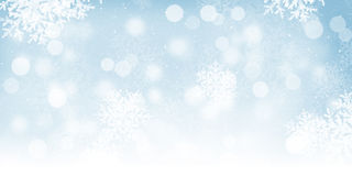 Blurred bokeh christmas background Royalty Free Stock Photos