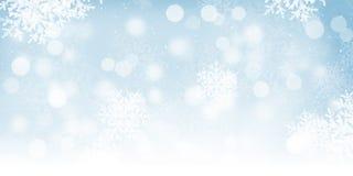 Blurred bokeh christmas background vector illustration