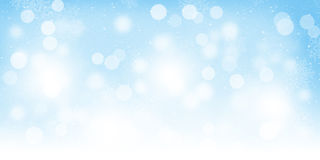 Blurred bokeh christmas background Stock Photos