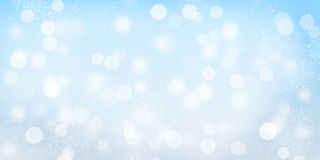 Blurred bokeh christmas background Stock Photography
