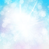 Blurred bokeh christmas background Royalty Free Stock Photography