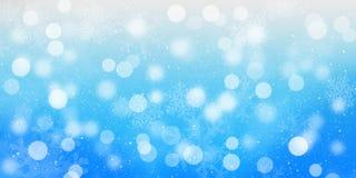 Blurred bokeh christmas background Stock Photo