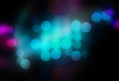 Blurred Bokeh Circles Royalty Free Stock Images