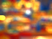 Blurred bokeh city buildings background. S Royalty Free Stock Photography