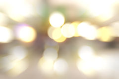 Blurred bokeh of lights background. royalty free stock photography