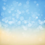 Blurred bokeh nature background Stock Photo