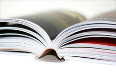 Blurred book Royalty Free Stock Image