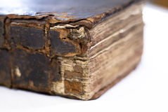Blurred book edge focus Stock Photos