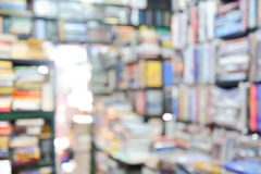 Blurred book store as background Royalty Free Stock Images