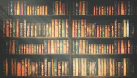 Free Blurred Bookshelf Many Old Books In A Book Shop Or Library Royalty Free Stock Photo - 123104815